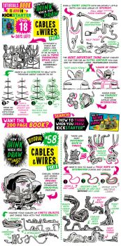 How to draw CABLES and WIRES - KICKSTARTER now ON! by STUDIOBLINKTWICE