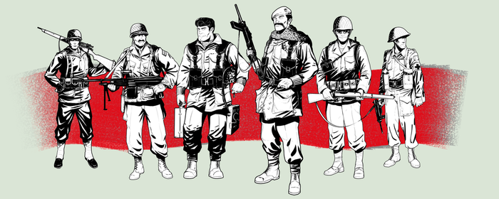 WW2 Soldiers | Commission by Pino44io