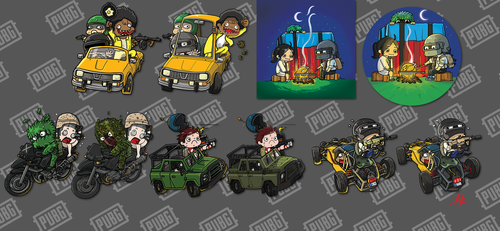 PUBG badge 2018 (updated) by Agito666