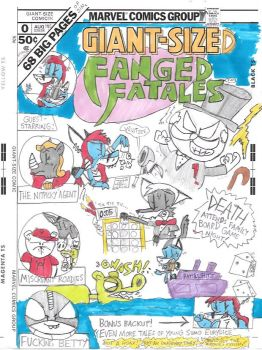 Giant-Size Fanged Fatales by astrolupine
