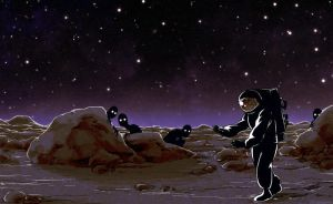 The Blind Astronaut by CatusSnake