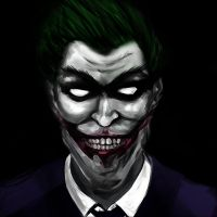 Joker by cclownart