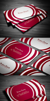 Circle Business Card by FlowPixel
