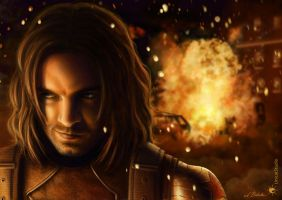 Let it burn /Bucky's revenge by UnicatStudio