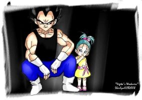 VEGETA'S WEAKNESS by sharlynkcb