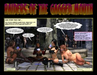 Raiders of the Gagged Mouth by Nathanomir