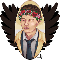 Castiel by shiicolate