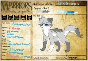 Cindersong Ref Updated (New Design) by SilverKitti