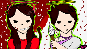 Angel and Devil | Jaiden Animations by Salsahero15