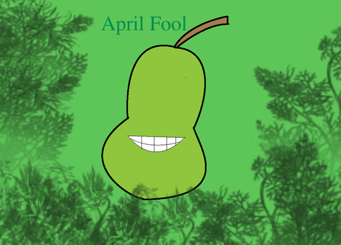 April Fool Pear by PrettyShadowj28