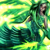 Green Fairy by ryky