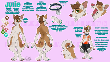 Julie Sona Ref by Wolf-Shadow77