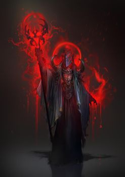 Bloodmage concept - Sigantium by 2blind2draw