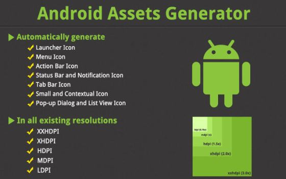 Android Assets Generator by mmounirf