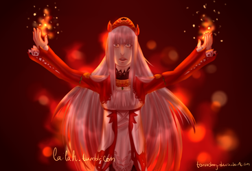 empress of flame by torvusbog