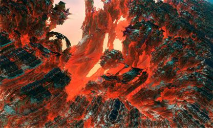 Fields of red planet by jagerion