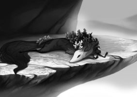 A Nap on the Ledge by golden-marrow