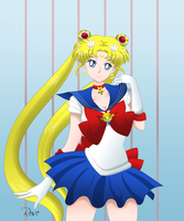 Pretty Guardian Sailor Moon by rose15XX
