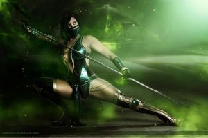 Viridian Lady by Larxenne