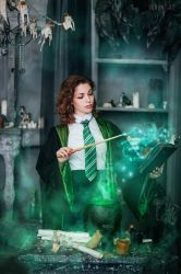 Student of the Slytherin Faculty6 by VeroNArt