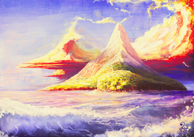 Island _ Nilius by soon38