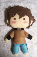 Hige plush from Wolfs Rain by CuteGio