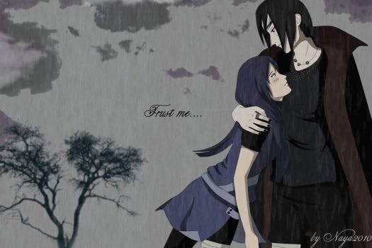 Naya trusts Itachi by Naya2010