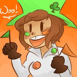 Happy St. Patrick's Day! by beariewinkle