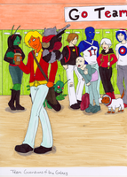 Teen Guardians of the Galaxy by YouveGotTaste