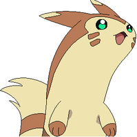brownie the furret by akarifan25