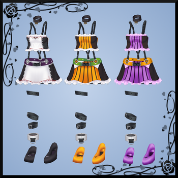 Pangya Halloween Outfit 3 DOWNLOAD by Reseliee