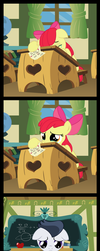 Applebloom 's  - A happy end to hearts and hooves by matty4z