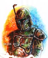 Verd Sur'gaan - Portrait of a Warrior by Skira-Reed