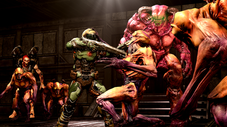[SFM] DOOM: Hell's Slaughter House by FD-Daylight