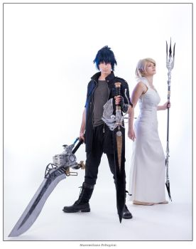 Noctis and Luna cosplay FFXV by Rael-chan89