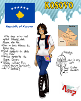 [HETALIA] Kosovo Profile by melondramatics