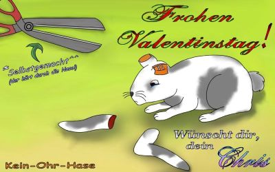Kein Ohr Hase by ZombieFX
