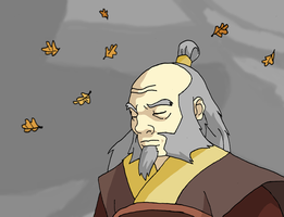 Uncle Iroh - If Only I could Have Helped You by Juggernaut-Art