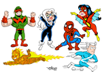 Marvel Heroes Kids by CaptainAp60