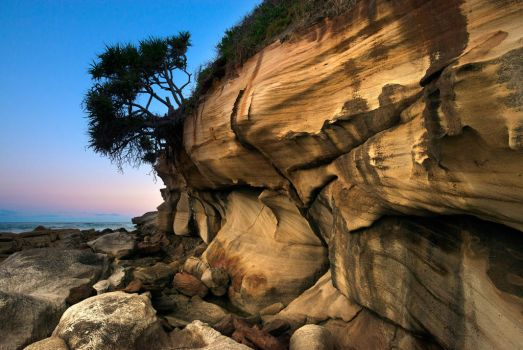 Sandstone Sunset by Cameron-Jung