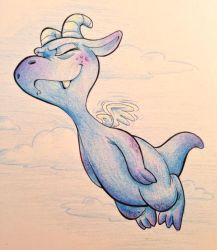 Fukwad the dragon by Whimsical-Waffles