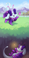 DTA: Any time is play-with-bugs time by WowzaDawg