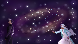Shallura: space in between by Bobor999
