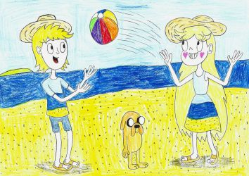 Summer time 2018 by LinePencilArtXX
