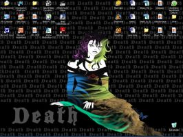 Sandman: Death wall by bloodyblue