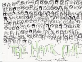 141 HAIRSTYLES - old - by NeonGenesisEVARei