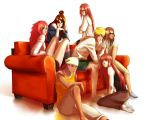 Naruto: Gold Among the Crimson (Harem) by JuPMod