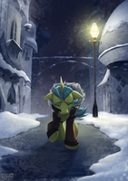 -Commission- Winter's Heart by BuizelCream