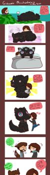 suncomics 10:Misadventures of Graham1 Fluffy butt by SheriffGraham