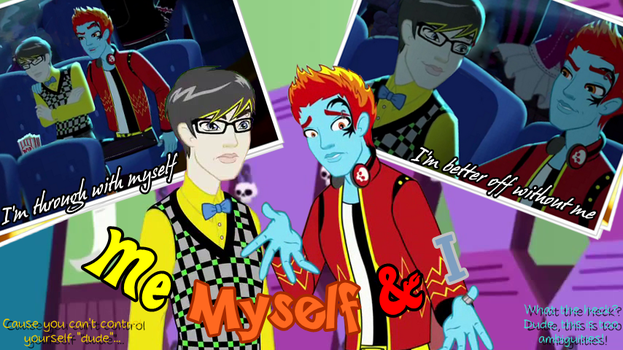 MH~ Jekyll and Hyde - Me Myself and I by Ereni-chan